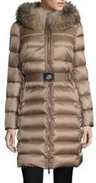 Moncler Tinuviel Removable Fox Fur Puffer Coat