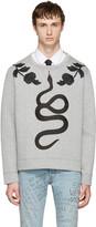 Gucci Grey Snake Sweatshirt