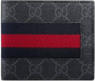 Gucci GG Supreme Web wallet