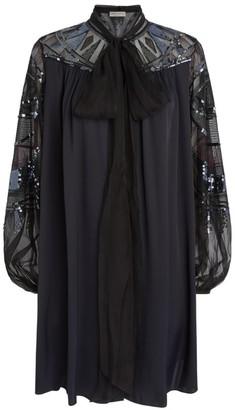 Emilio Pucci Embellished Wally Mini Dress