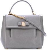 Salvatore Ferragamo medium Vara top handle bag - women - Calf Leather - One Size