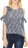 Vince Camuto Tied Cold-Shoulder Sweater