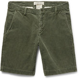 Remi Relief Slim-Fit Cotton-Blend Corduroy Shorts