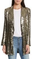 Alice + Olivia Women's Jace Sequin Embellished Blazer