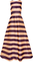 Emilia Wickstead Fiona striped satin gown