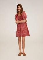 MANGO Red Print Dresses - ShopStyle UK