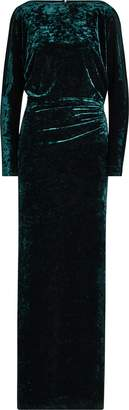 Ralph Lauren Velvet Long-Sleeve Gown