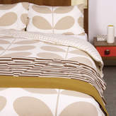 Orla Kiely Flannel Giant Stem Clay Quilt Cover Set