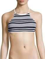 rhythm Women's Strokes Apron Bikini Top