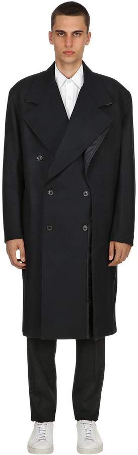 Y/Project Double Paneled Wool Coat