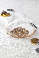 Anthropologie Sequined Circlet Crown