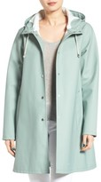 Stutterheim Women's Mosebacke Waterproof A-Line Hooded Raincoat