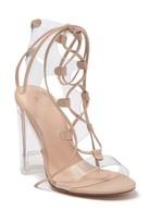 Aldo Kween Lace-Up Block Heel Sandal