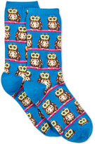 Hot Sox Women's Owl with Glasses Socks