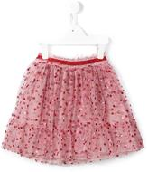 Gucci Kids - glitter dots tulle skirt - kids - Cotton/Polyamide/Polyester - 4 yrs