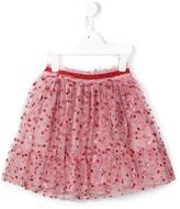 Gucci Kids - glitter dots tulle skirt - kids - Polyester/Polyamide/Cotton - 4 yrs