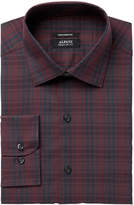 Alfani Men's Regular Fit Performance Stretch Easy-Care Bold Square Plaid Dress Shirt, Created for Macy's