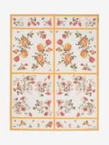 Alexander McQueen Floral Tablecloth Shawl