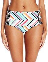 Coco Rave Women's Summer Patch Debby Cut Out High Waist Bikini Bottom