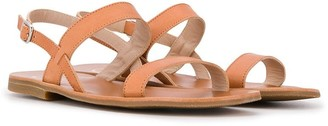 Gallucci Kids TEEN strappy sandals
