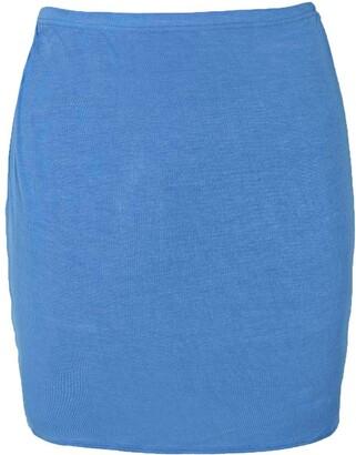 boohoo Basic Jersey Mini Skirt
