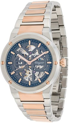 Salvatore Ferragamo Watches F-80 Skeleton 40mm watch