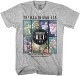 Novelty T-Shirts Short-Sleeve Muhammad Ali Thrilla In Manilla Tee