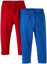 Jo-Jo JoJo Maman Bebe 2 Pack Leggings (Baby) - Red-18-24 Months