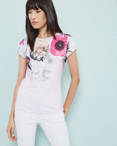 Ted Baker Neon Poppy fitted Tshirt