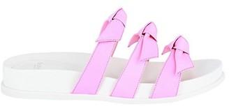 Alexandre Birman Lolita Leather Pool Slide Sandals