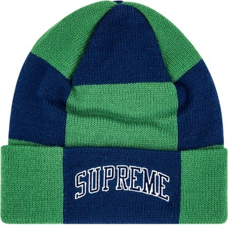 Supreme Checkerboard knitted beanie