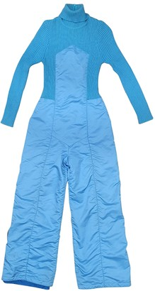 Christian Dior Blue Polyester Jumpsuits
