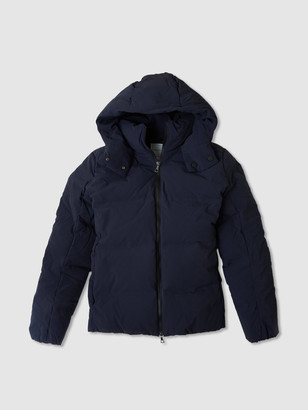 Jason Scott Puffer Jacket - Navy