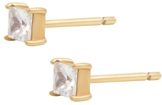 Wanderlust + Co Princess Topaz Gold Sterling Silver Earrings
