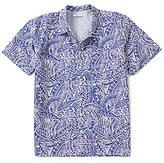 Columbia PFG Trollers BestTM Short-Sleeve Repeating Fish Printed Shirt