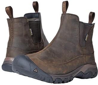 Keen Anchorage Boot III Waterproof (Black/Raven) Men's Boots