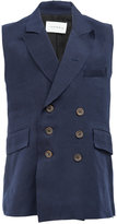 Song For The Mute double breasted waistcoat - men - Cupro/Rayon - 46
