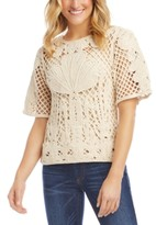 Karen Kane Crochet Top