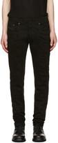 Diesel Black Gold Black Distressed Type-253 Jeans