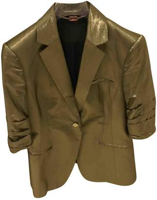 John Richmond Gold Other Jackets