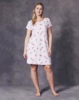 Pretty Secrets Flamingo Print Nightgown