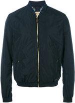 Burberry Brentfield bomber jacket - men - Cotton/Polyamide/Polyester/Spandex/Elastane - L