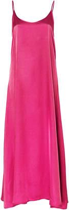 Apparis Maxine Vegan Satin Midi Dress