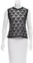 Dolce & Gabbana Sleeveless Lace Top w/ Tags