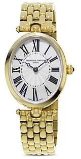 Frederique Constant Classics Art Deco Yellow Gold Watch, 30mm