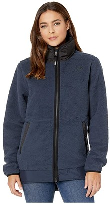 The North Face Dunraven Sherpa Parka (Urban Navy) Women's Coat