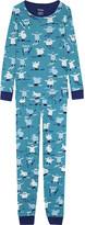 Hatley Skiing monsters cotton pyjamas 2-12 years