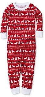 Kissy Kissy Unisex Reindeer Print Tee & Pants Pajama Set - Baby