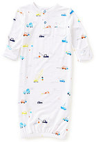 Angel Dear Baby Boys Newborn-3 Months Colorful Construction Gown