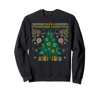 Funny Tree steampunk Ugly Christmas Sweaters Sweatshirt